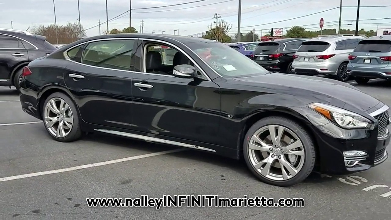 New 2017 Infiniti Q70 L At Nalley Infiniti Marietta New