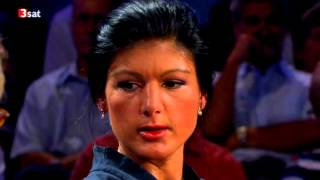 Sahra Wagenknecht - DIE LINKE- Riverboat - Talkshow - 10.09.2012