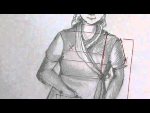 How to Make House Coat Pattern / Drafting part 2 of 4 hindi