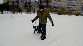 Чемодан на колёсах своими руками(Чемодан на колёсах своими руками, за основу взят простой кейс от перфоратора Бош. Для изготовления чемодан..., 2015-02-19T19:03:44.000Z)