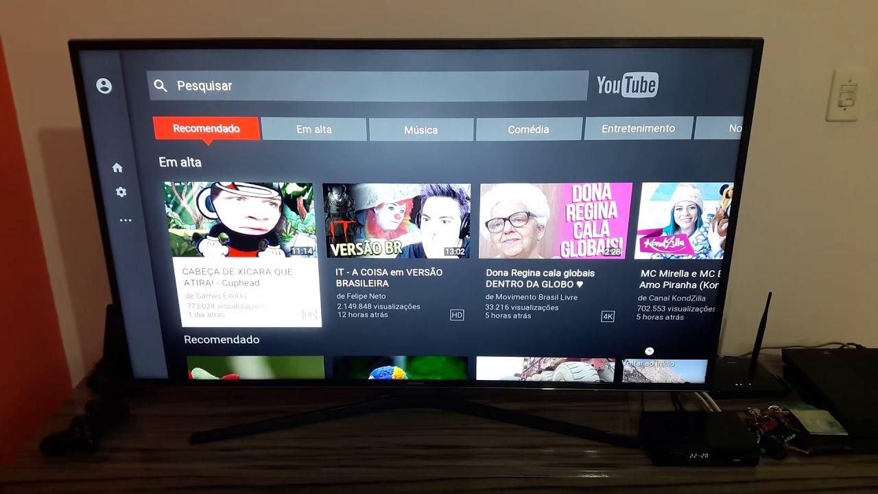 Bug App Youtube Smart Tv 4k Samsung 6000 6100 6300 6400