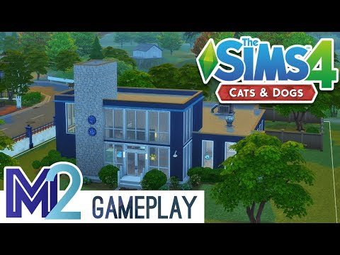 sims 4 cats and dogs how to become vet