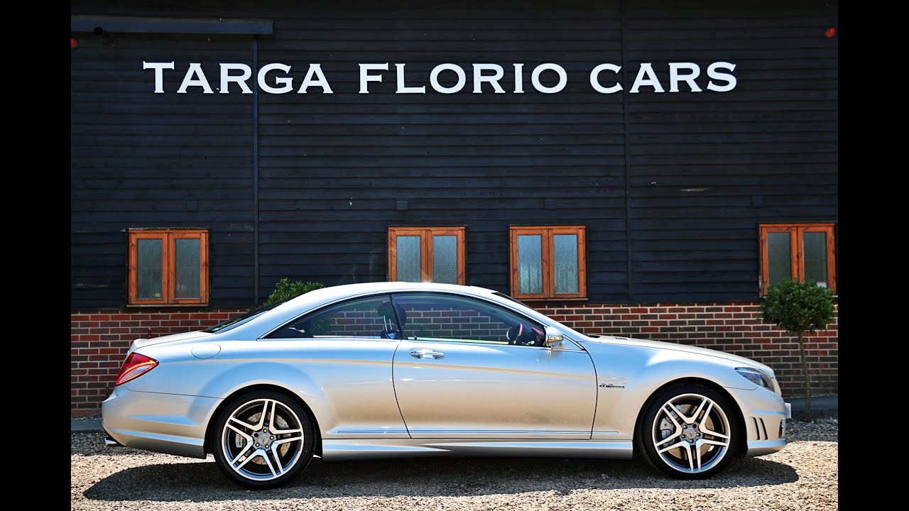 Mercedes benz cl63 amg 6 2 v8 for sale in iridium silver for Mercedes benz cl63 for sale
