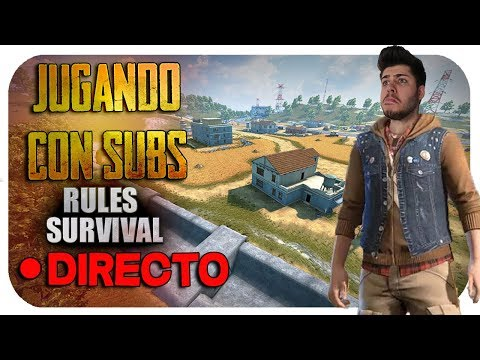 🔴RULES OF SURVIVAL EN ANDROID | JUGANDO CON SUBS | MattsinLife #15