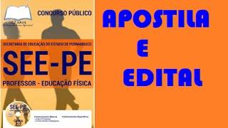 Apostila Professor de Educaçao Física Concurso SEE PE 2016