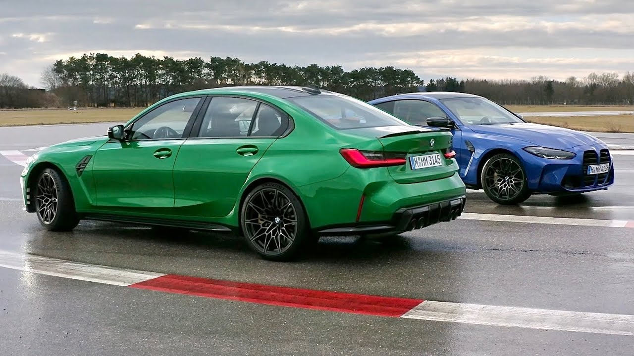 New BMW M3 vs BMW M4 2021 - which one is better? (design & exhaust sound) -  YouTube