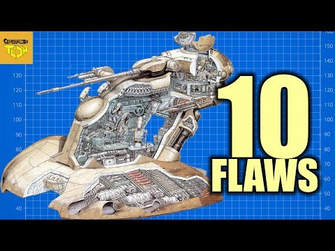 10 FLAWS with the AAT (Separatist Hovertank)