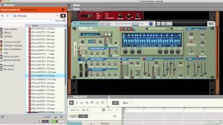 Raison 104: présentation de la Instruments - 10. NN-19 sampler