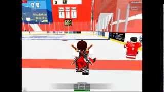 Roblox NHL Hockey Game 1 vs.1 First Half