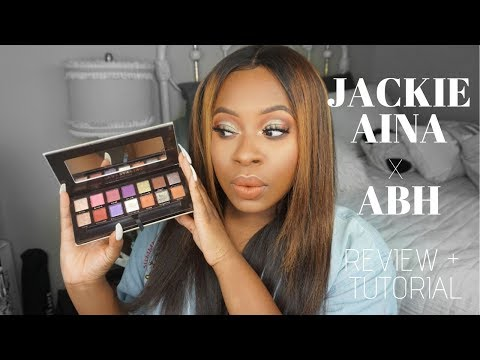 THE ONLY PALETTE THAT MATTERS! | JACKIE AINA X ABH EYESHADOW PALETTE thumbnail