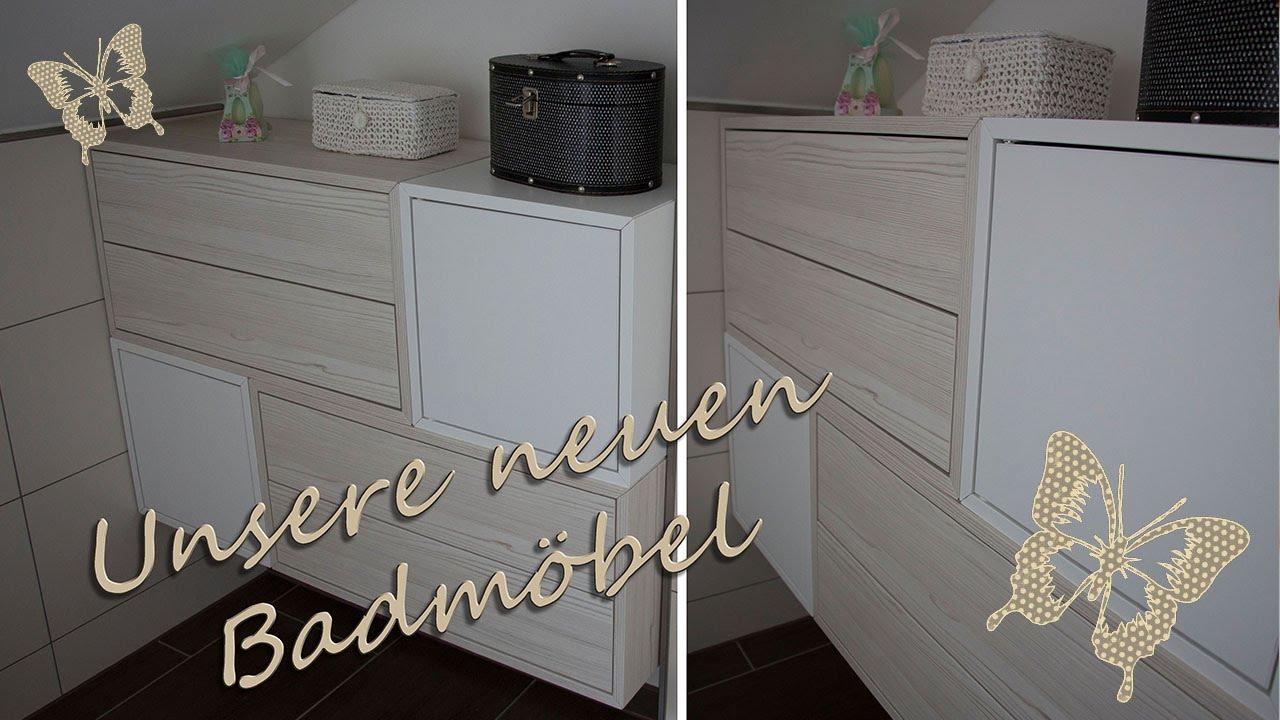 Unsere neuen Badmöbel/ IKEA Valje - YouTube