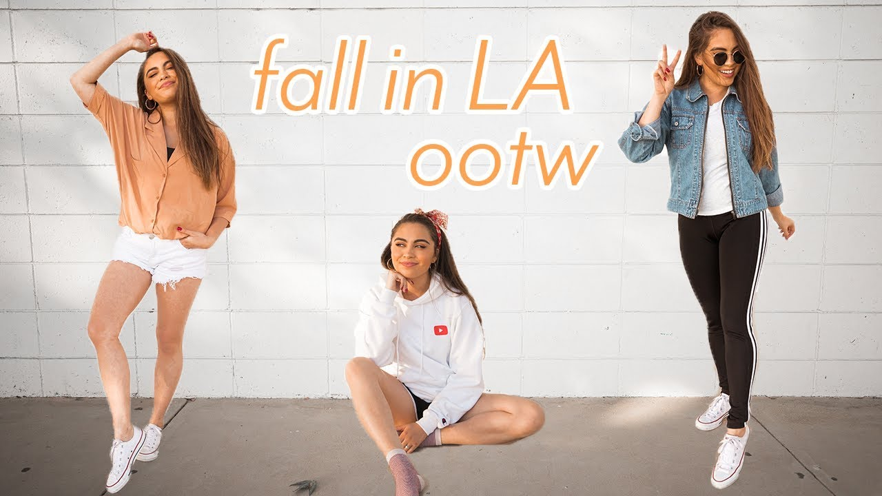 FALL OUTFITS OF THE WEEK // FALL IN LOS ANGELES♡ 9