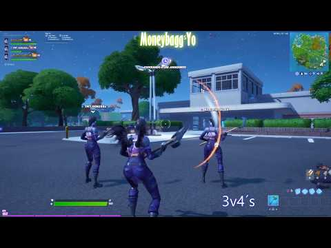 3 Vs 4´s | Fortnite| MoneyBagg Yo