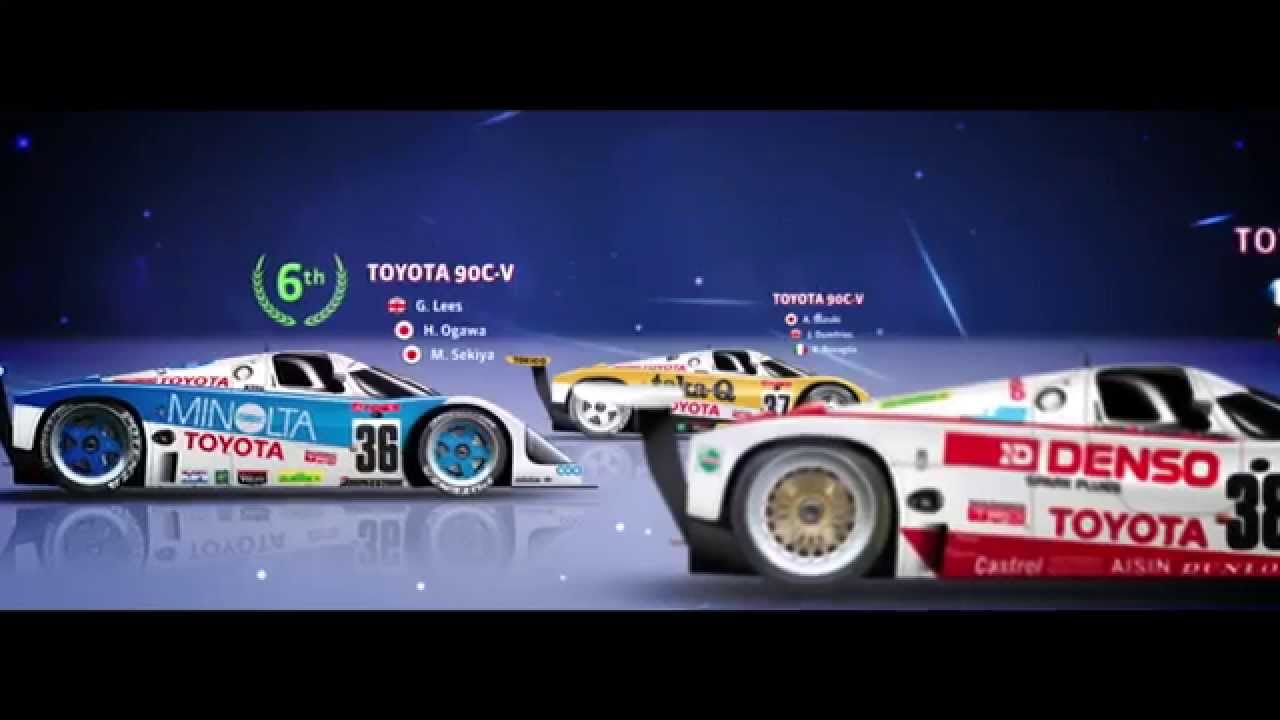 30 Years of TOYOTA at Le Mans: 1985-2015