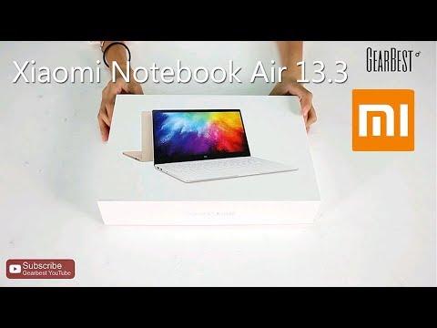 Xiaomi Notebook Air 13.3 Fingerfrint Edition - Gearbest.com