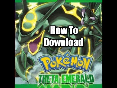 How To Download Pokemon Theta Emerald 721 EX Alpha!