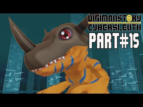 Digimon Story Cyber Sleuth Walkthrough Part 15 Gameplay Lets Play