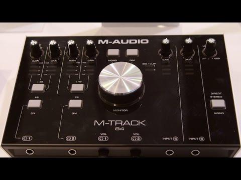 M-Audio M-Track Range - NAMM 2016