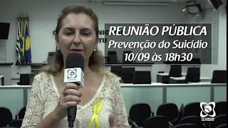 Prevenção ao Suicídio: convite para reunião pública