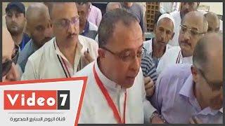 وزير التخطيط يتفقد أماكن سكن حجاج السياحة الاقتصادى بالعزيزية