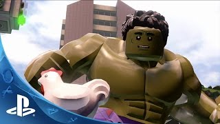 LEGO Marvel's Avengers - NYCC Trailer | PS4, PS3, PS Vita