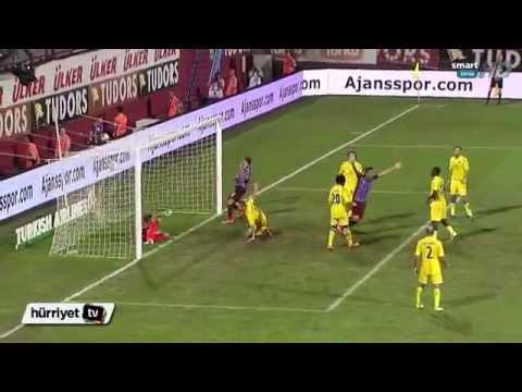 UEFA Avrupa Ligi Maçı Trabzonspor 2-0 Rostov