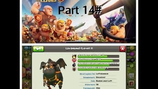 Let´s Play Clash of Clans Part 14# Road to Kristall+Lavahound Start!!!