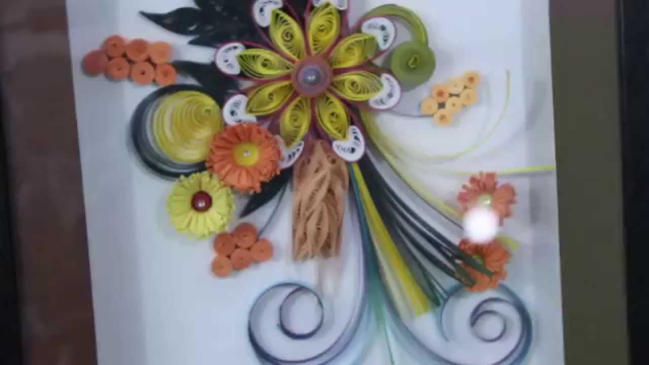 Make Paper Flower Art And Craft Step By