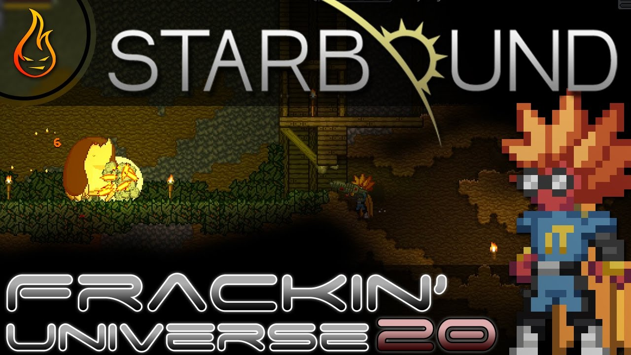 Getting that Sweet Hydroponics Tray: Starbound Frackin Universe Ep20