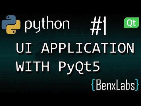 Python UI application with Qt designer #1