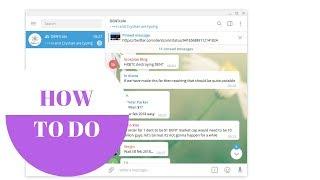Wie man mit dem TELEGRAM Messenger sicher und schnell chattet