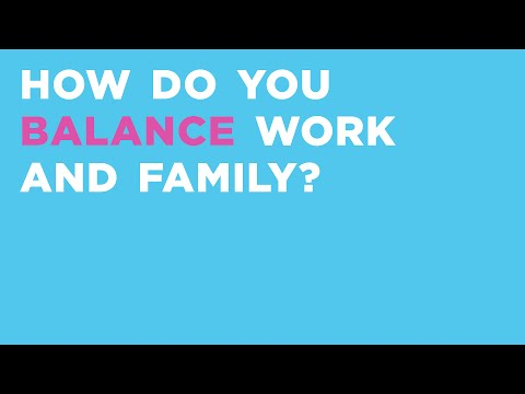 How to Balance Work and Family - Oh Joy Answers