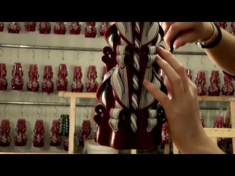 Смотреть онлайн НОВАЯ БИЗНЕС-ИДЕЯ В ГАРАЖЕ. Изготовление декоративных свечей в домашних условиях