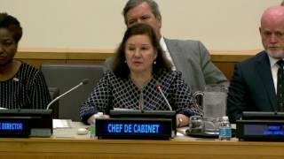 Maria Luiza Viotti, Chef de Cabinet to UN Secretary General