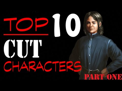 TOP 10 ASOIAF Characters Cut from Game of Thrones (PART 1)