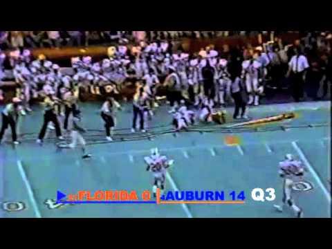 1986 Florida Gators vs. #4 Auburn Tigers: Kerwin Bell