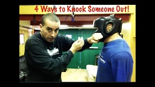 4 Ways to Knock Out someone - Street Tested and Proven Self Defense
