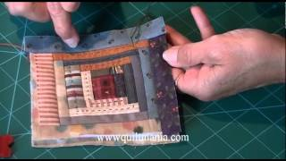 Animation Noel 2014 avec QUILTMANIA - Log Cabin