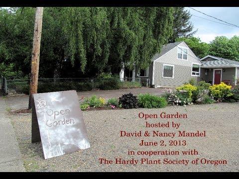 Open Garden hosted by David & Nancy Mandel on June 2, 2013