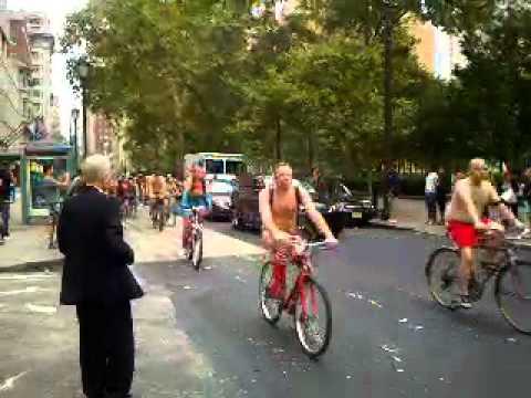 Philadelphia naked bike ride 2012