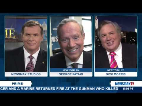 Newsmax Prime | George Pataki and Dick Morris discuss the upcoming debates