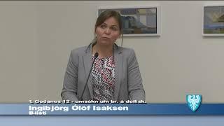Fundur Bæjarstjórnar 19. september 2017