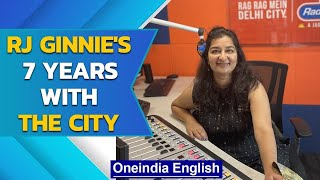 RJ Ginnie completes 7 years with Radio City | Her journey | Oneindia News