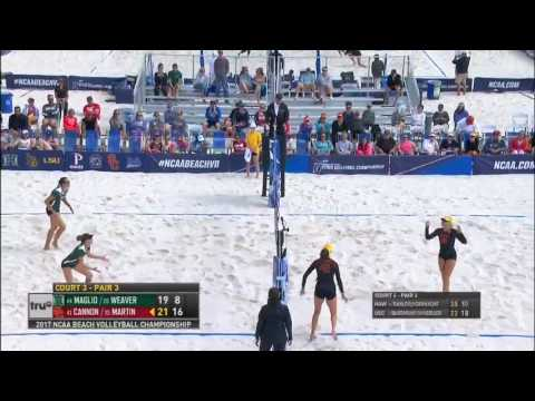 USC Beach Volleyball: USC 3, Hawaii 0 - Quarterfinal Highlights