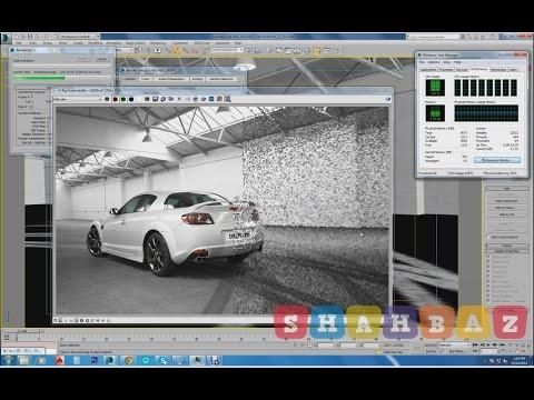 rendering test on Intel core i7 4790k cpu