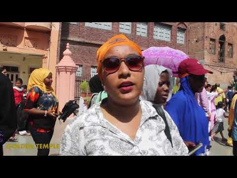 Africans Tour - Golden Temple (Amritsar PB, India)