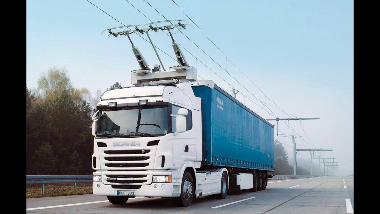 Scania'nın elektrikli kamyonu nasıl çalışıyor? İzleyin!
