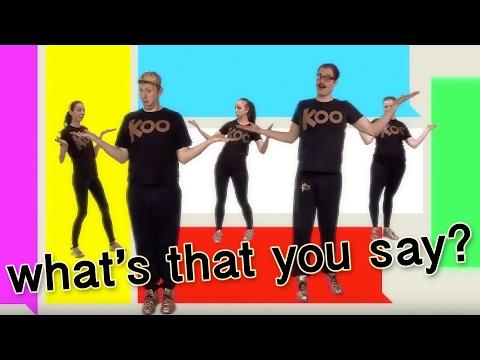 Koo Koo Kanga Roo - What's That You Say (Dance-A-Long)