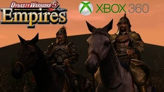 I got an Xbox 360! - Dynasty Warriors 5 Empires Gameplay