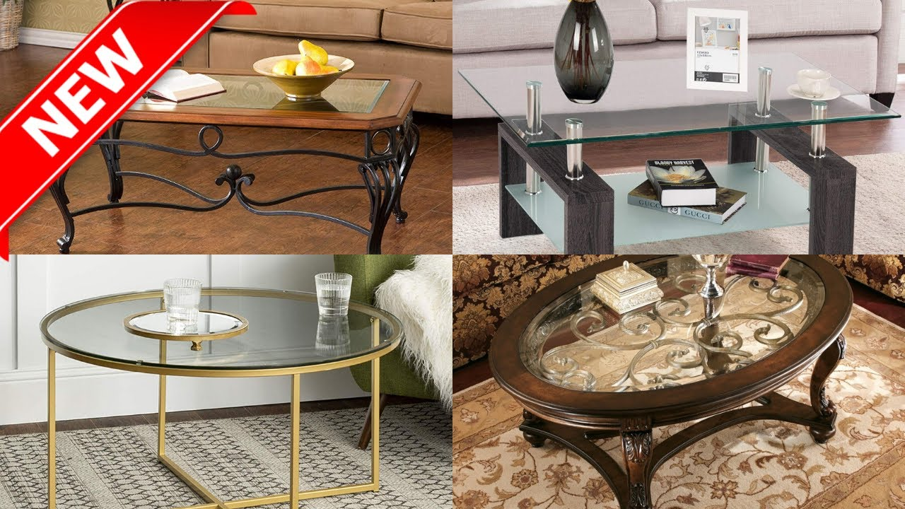 Glass Coffee Table Most Beautiful Center Table Ideas
